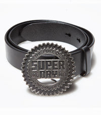 "Superdry Men's ""The Pure Oil"" Leather Belt - Labels4Less"