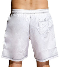 Hugo Boss Men's  BK-01 Boardshorts In White - Labels4Less