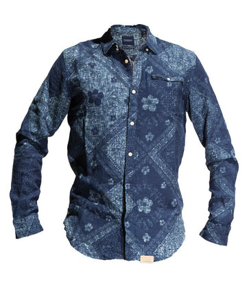 Scotch & Soda Men Indigo Juice Shirt
