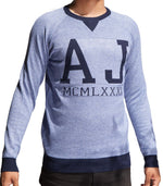 Armani Jeans AJ Jersey In Grey - Labels4Less