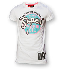 Superdry Men's Reworked Classic T-shirt In White - Labels4Less