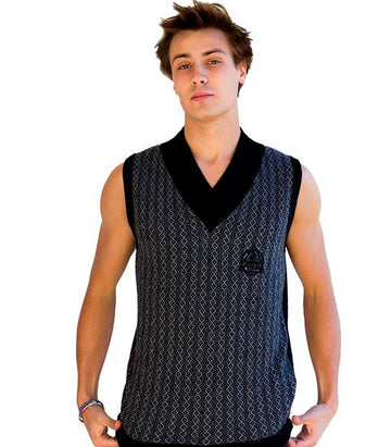 Diesel Men's Sleeveless Jersey In Black