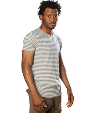 Scotch & Soda Men stripe tee-shirt - Labels4Less