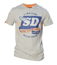 Superdry Men's V-Twin Class Vintage T-shirt - Labels4Less