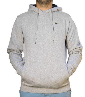 Lacoste Sweater Hoodie Classic Fit Grey SH212800 MNC