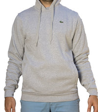 Lacoste Sweater Hoodie Classic Fit Grey SH212800 MNC - Labels4Less