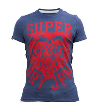 Superdry Men's Tiger T-shirt In Dark Blue - Labels4Less