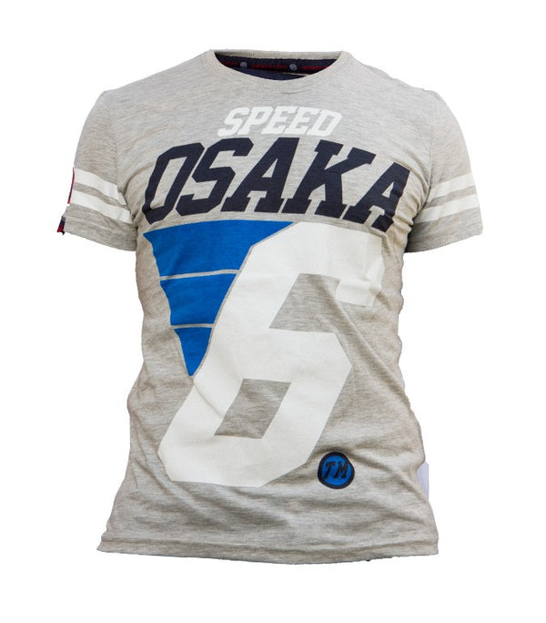 Superdry Men's Speed Osaka T-shirt In Light Grey - Labels4Less