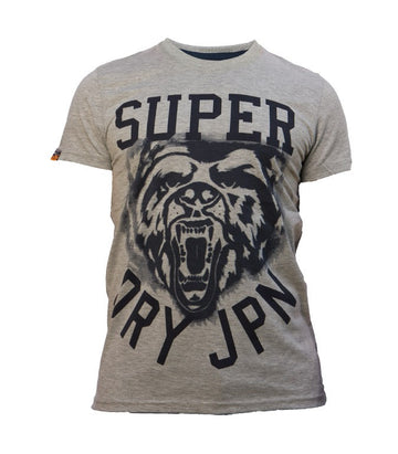 Superdry Men's Tiger T-shirt In Light Grey