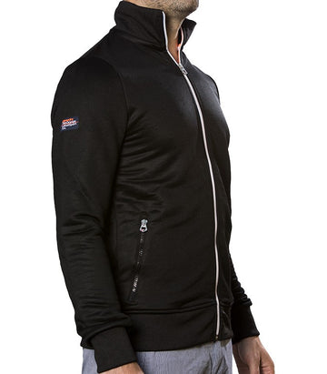 Superdry Men Zip Black Sport collection
