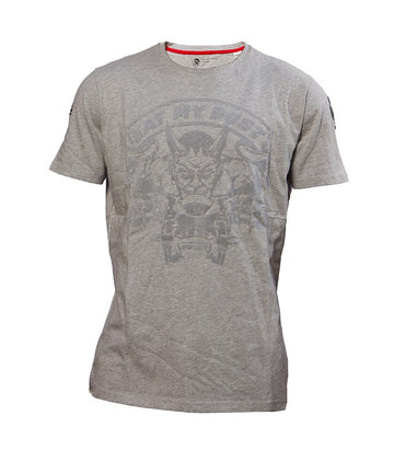 "Diesel Men's Ducati ""Eat My Dust"" T-shirt In Grey"