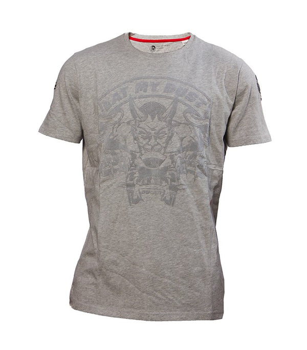 "Diesel Men's Ducati ""Eat My Dust"" T-shirt In Grey - Labels4Less"