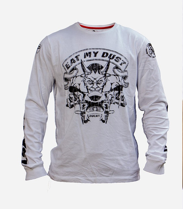 "Diesel Ducati Men long sleeve ""Eat my Dust"" - Labels4Less"