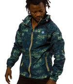 Superdry Men's Sport Light Camo Jacket In Dark Blue - Labels4Less