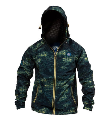 Superdry Men's Sport Light Camo Jacket In Dark Blue