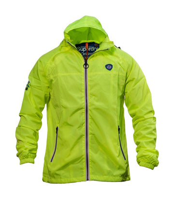 Superdry Men's Sports Hooded Cagoule In Yellow