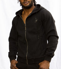 "Diesel Men's ""Only The Brave"" Vintage Hoodie In Black - Labels4Less"