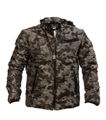Diesel Men's Camo Jacket In Army - Labels4Less