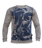 Diesel Men's Crew Neck Sweater In Grey - Labels4Less