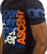 Superdry Men's Ascent T-shirt - Labels4Less