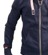 Superdry Men's Orange Label Hoodie In Maritime Blue - Labels4Less