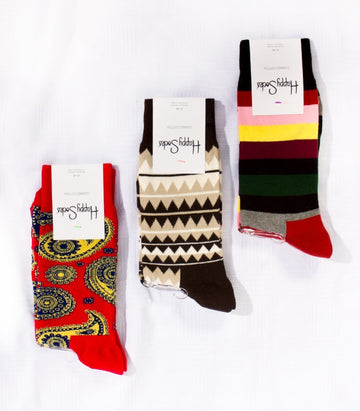 Happy Socks Pack of 3 A
