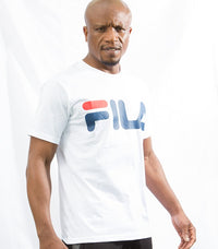 Fila white Classic logo tee : 680427 - Labels4Less