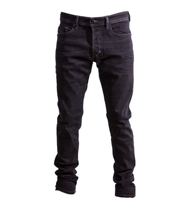 Diesel Men's Tepphar 084HQ Stretch Jeans In Black