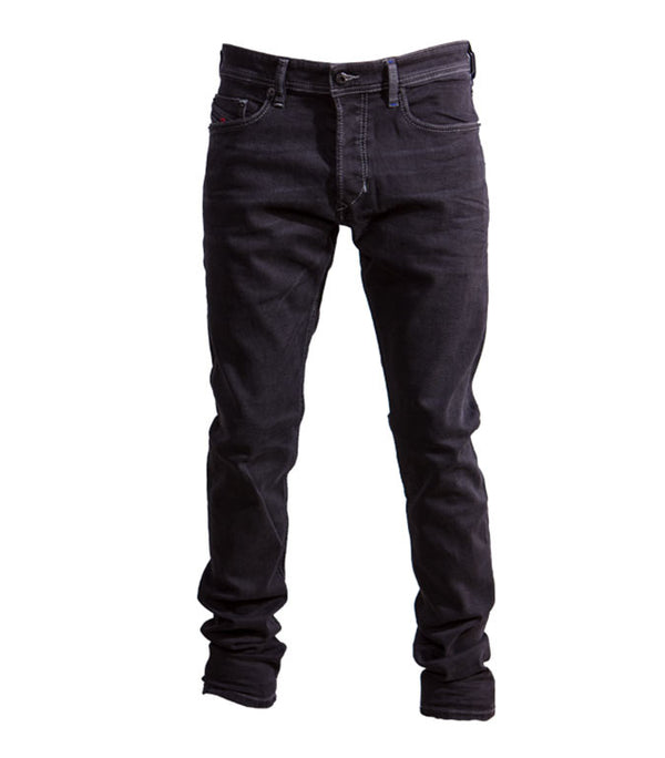 Diesel Men's Tepphar 084HQ Stretch Jeans In Black - Labels4Less