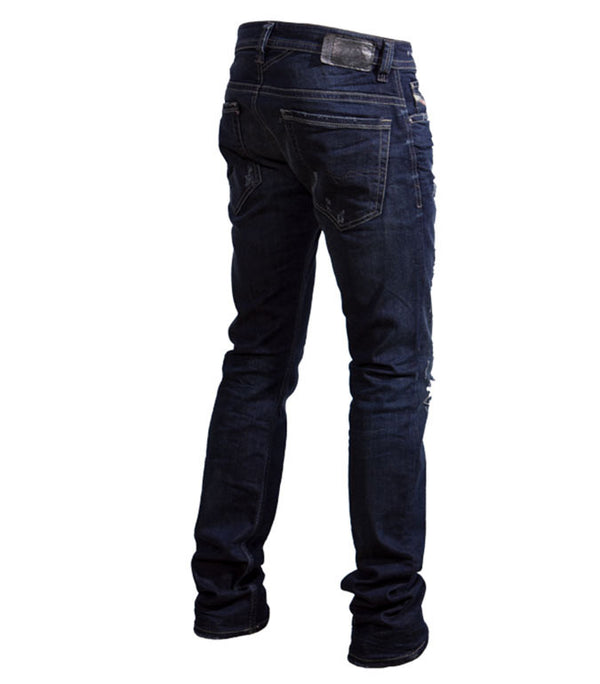 Diesel Men's Thavar R844T Slim Jeans In Dark Blue - Labels4Less