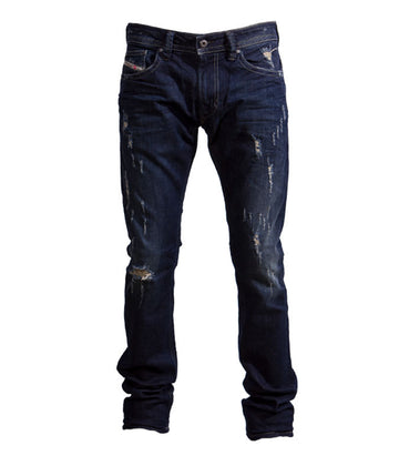 Diesel Men's Thavar R844T Slim Jeans In Dark Blue