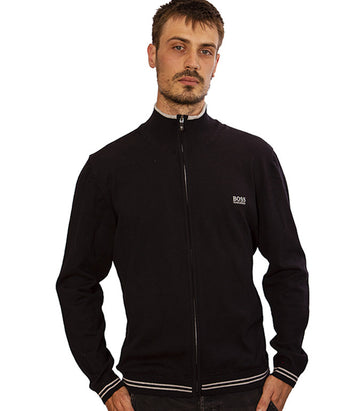 Hugo Boss Jumper Zome In Black