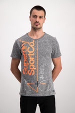 Superdry Men's Dry Sport T-shirt In Grey - Labels4Less
