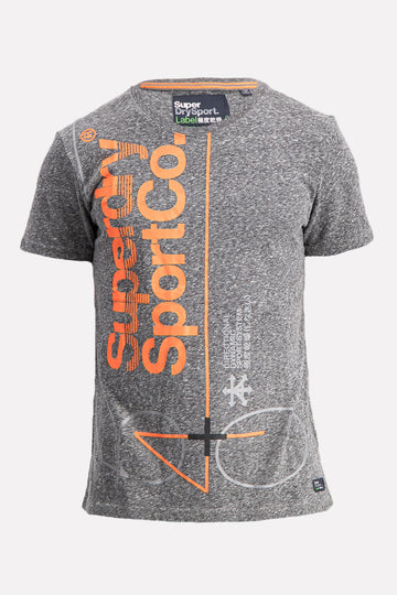 Superdry Men's Dry Sport T-shirt In Grey