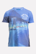 Superdry Men's Laguna T-shirt In Blue