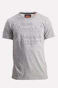 Superdry Men s Premium Goods Embossed T-shirt In Grey