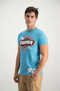 Superdry Men's Reworked Classic T-shirt Blue