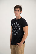 Superdry Men's NYSD Surplus T-shirt In Black
