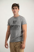 Superdry Men's NY Surplus Goods T-shirt In Grey