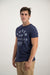Superdry Men's Surplus NY T-shirt Blue Grit - Labels4Less