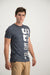 Superdry Men's Sony T-shirt grey - Labels4Less