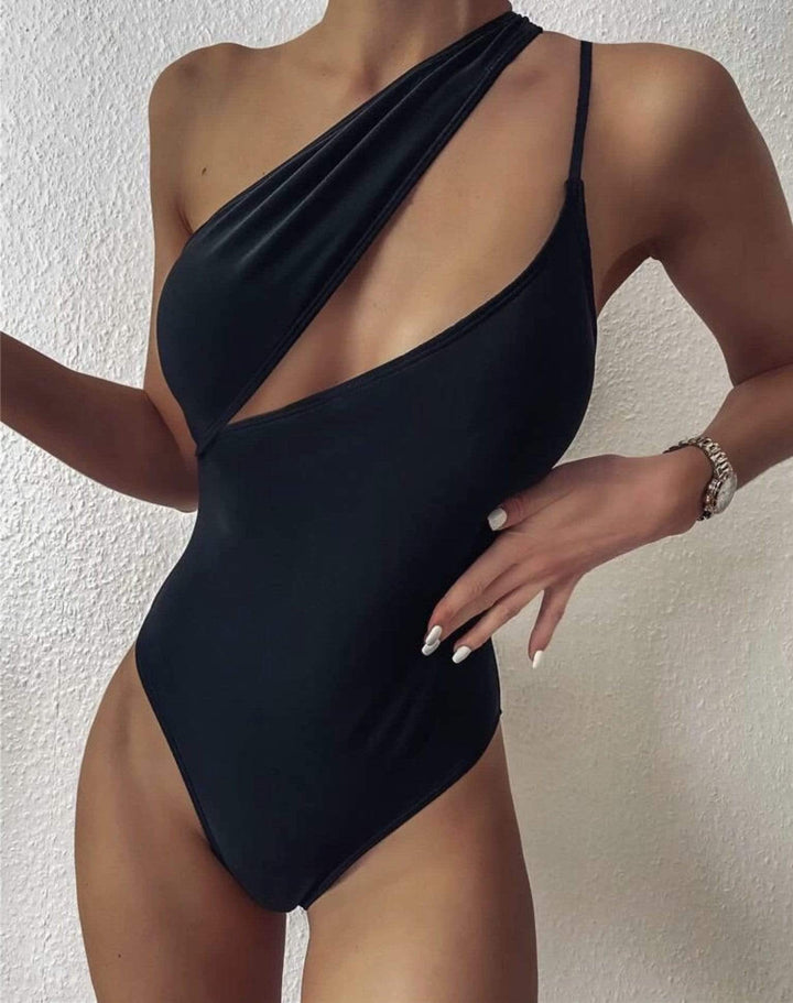 Ramaé Swimwear Cut Out One Shoulder One Piece Swimsuit swimsuits 2019 trendy bikini trendy swimsuits instagram bikini brands trendy bathing suits spring break swimsuit cheeky bikini high cut bikini