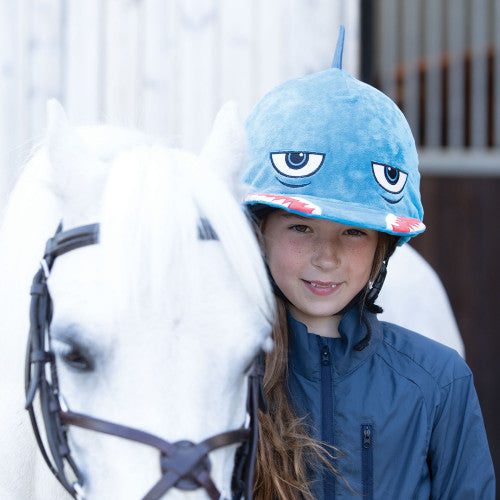 EQUETECH Shark Hat Silk