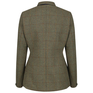 EQUETECH Ladies Claydon Deluxe Tweed Riding Jacket, klassisk engelsk ridkavaj i tweed