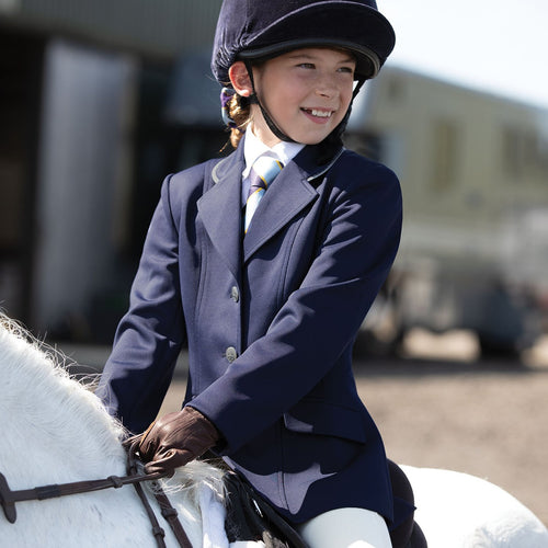 EQUETECH Junior Jersey Deluxe Competition Jacket NYHET!