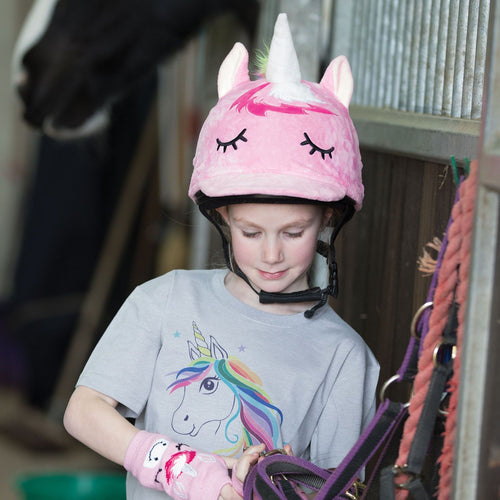 EQUETECH Unicorn Hat Silk