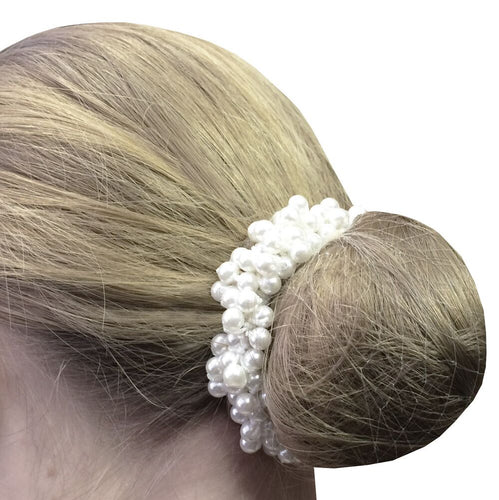 EQUETCH Pearl Beaded scrunchie