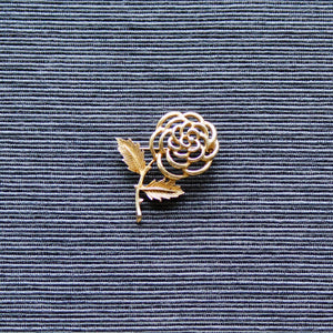 1960s Sarah Coventry Deconstructed Rose Brooch