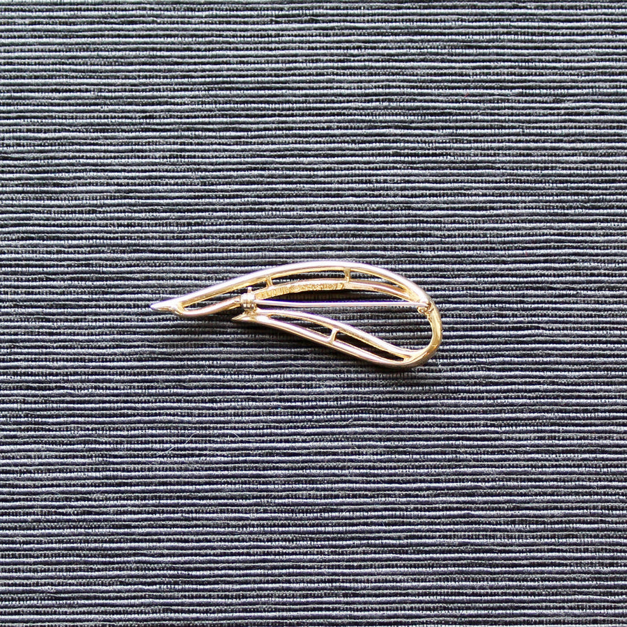1960s Sarah Coventry Swoosh or Abstract Brooch