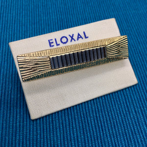 ELOXAL Aluminium Bar Brooch with Mirror